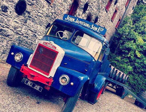 Jamison Irish Whiskey Truck