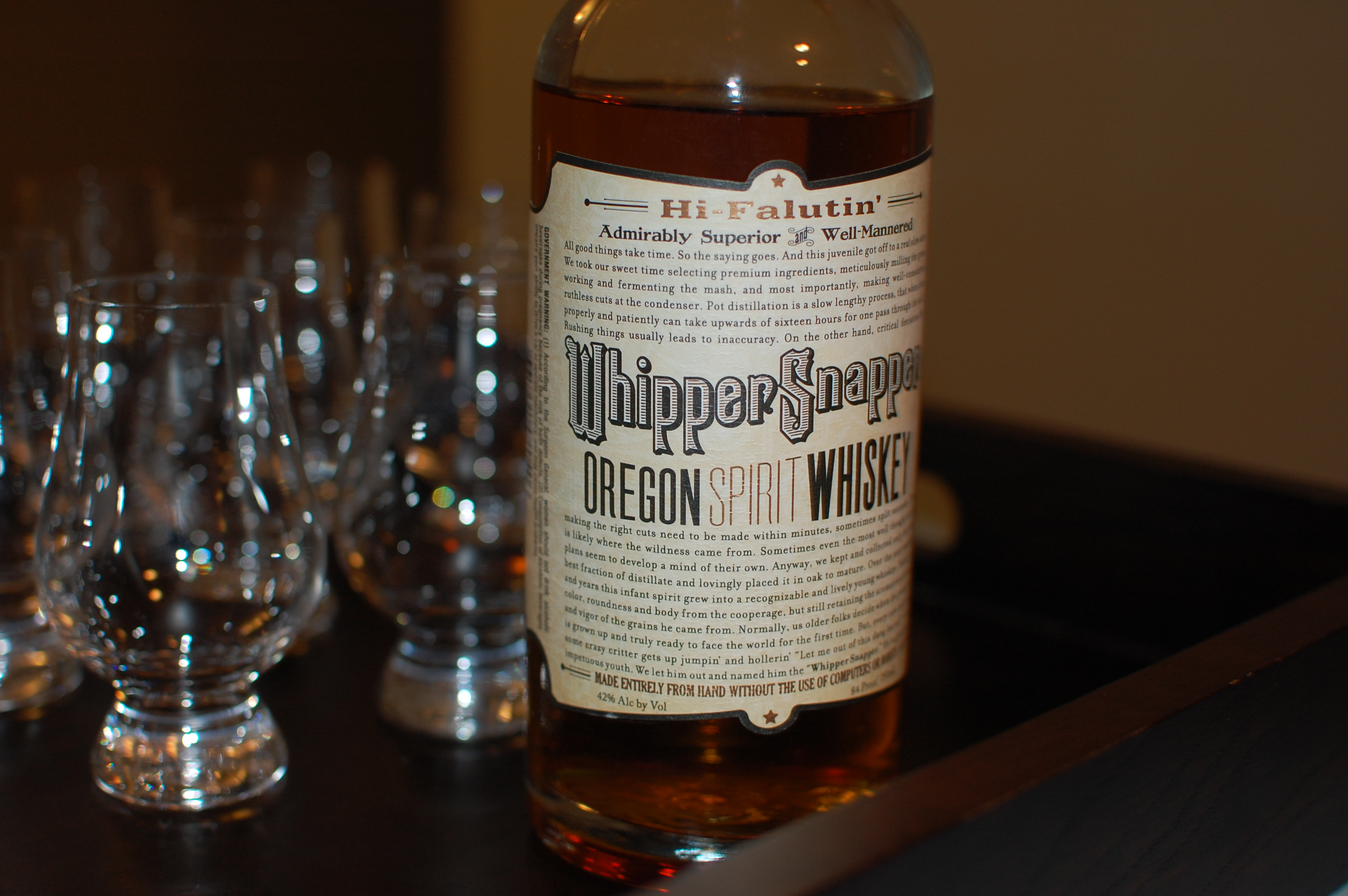 WhipperSnapper - Oregon Spirit Whiskey