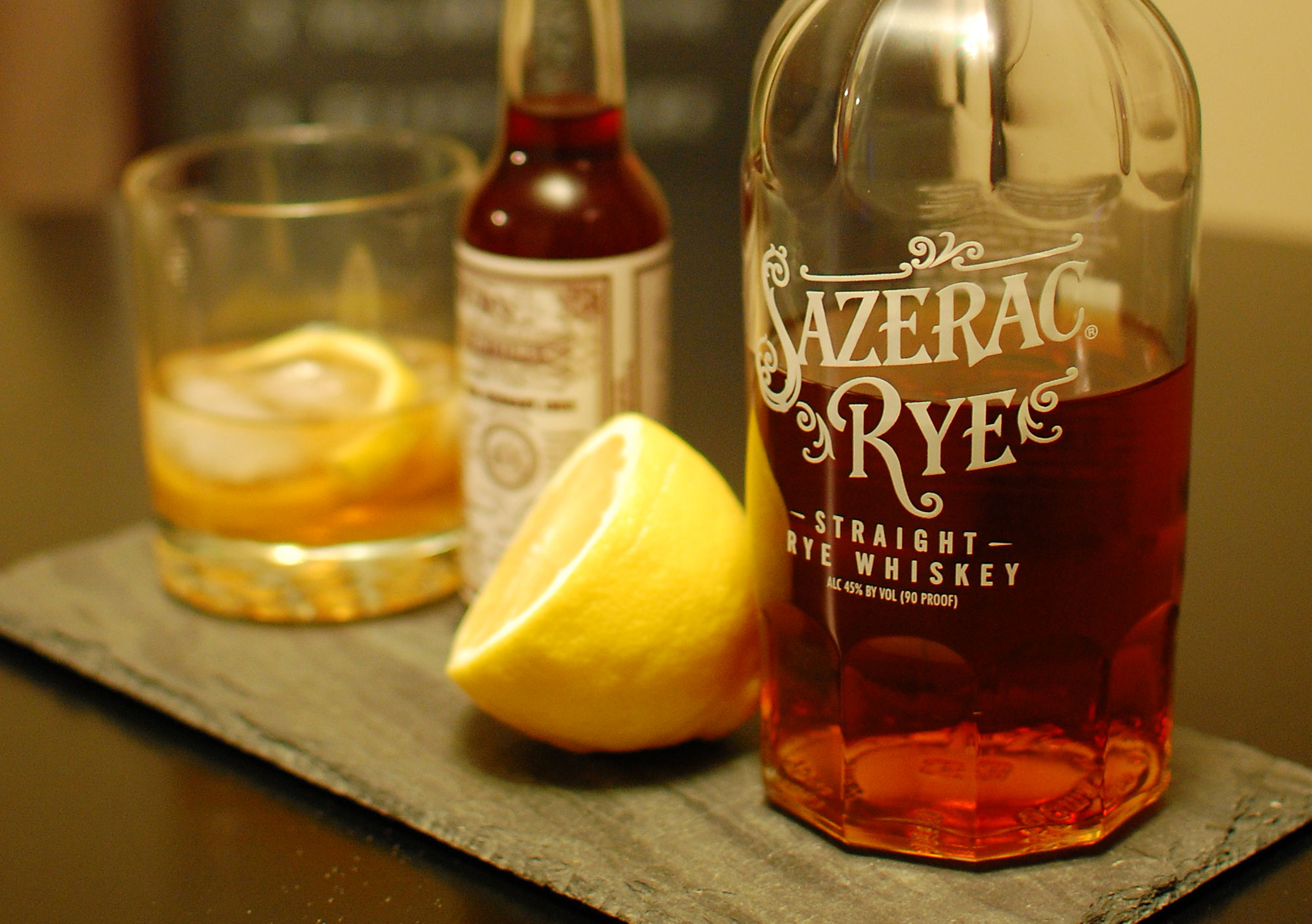 Sazerac Whiskey Cocktail