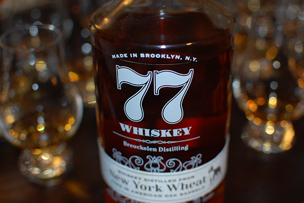 Breuckelen Distilling 77 Wheat Whiskey