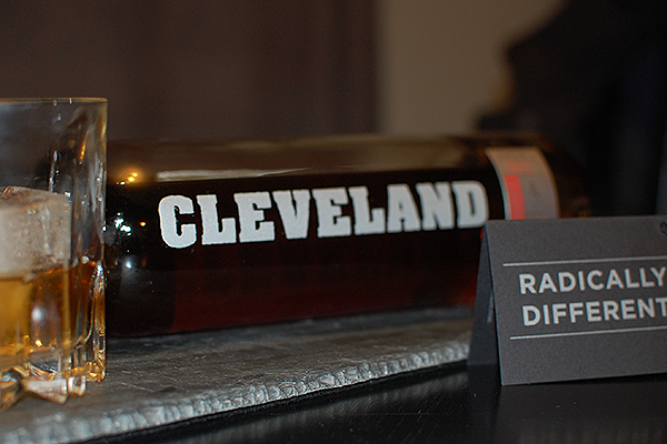 Cleveland Whiskey Black Reserve Bourbon