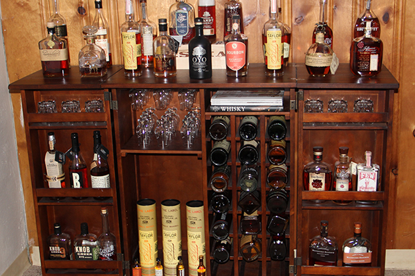 Main Whiskey Bar.