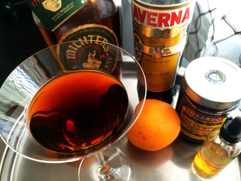 Black Manhattan Cocktail Recipe